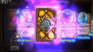 Dragonhatcher + Greedy Sprite - Kobolds and Catacombs Hearthstone epic and rare card pack opening