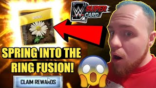 SPRING INTO THE RING FUSION WM34 PLATINUM PACK OPENING W WM34 PULL MORE WWE SuperCard Season 4