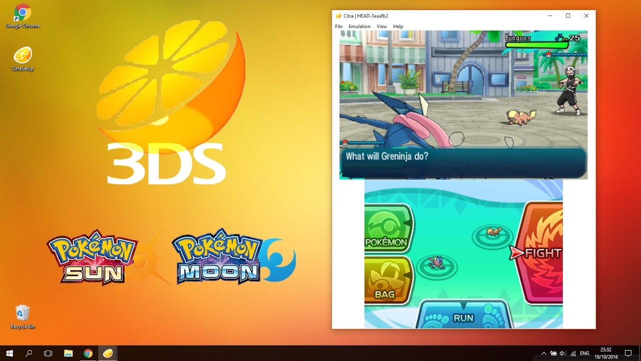 How to Play Pokémon Sun & Moon Demo on PC (Citra 3DS ...