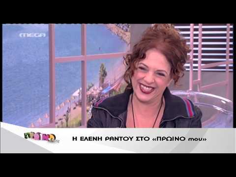 Entertv: Η Ελένη Ράντου για τον Β.Παπακωνσταντίνου