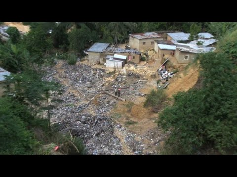 Dozens dead in floods in DR Congo capital