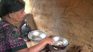Village Foods ❤ Village Style Cutlets prepared in my Village by my Mom