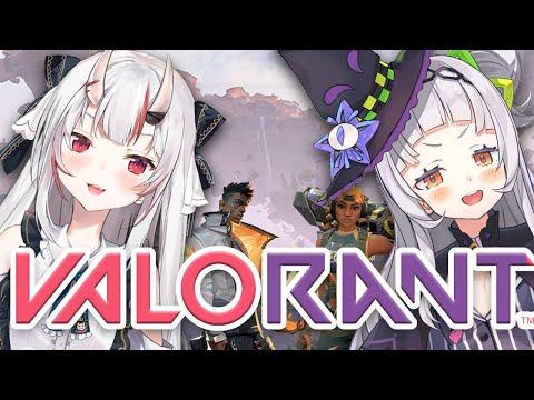 【VALORANT】鬼と魔女のヴァロラントいざ出陣!!!!!