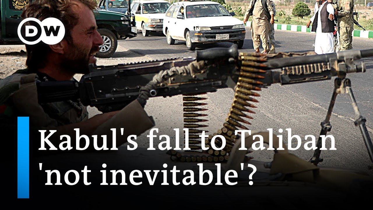 Afghanistan Falls To The Taliban Again As The U.S.-Backed ...