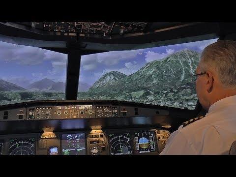 Airliner Anflug auf Innsbruck – es läuft nicht nach Plan