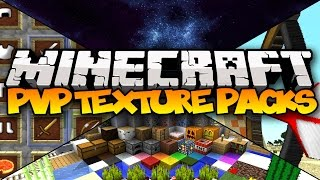TOP 5 MINECRAFT PVP TEXTURE PACKS! - (Best Minecraft Resource Packs)