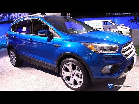 2019 Ford Escape Titanium - Exterior and Interior Walkaround - 2018 LA Auto Show