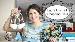 Laura Lily Fall Shopping Haul Thumbnail