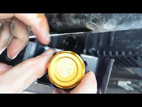 Ronin Factory Easy Oil Drain Install for 2015+ Ford F150 & Raptor Trucks