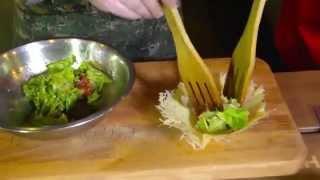 Как приготовить горячий салат Солончак в домашних условиях
