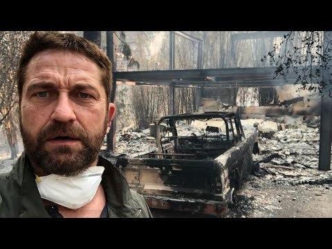 Miley Cyrus, Gerard Butler Among Stars to Lose Homes in California Wildfires