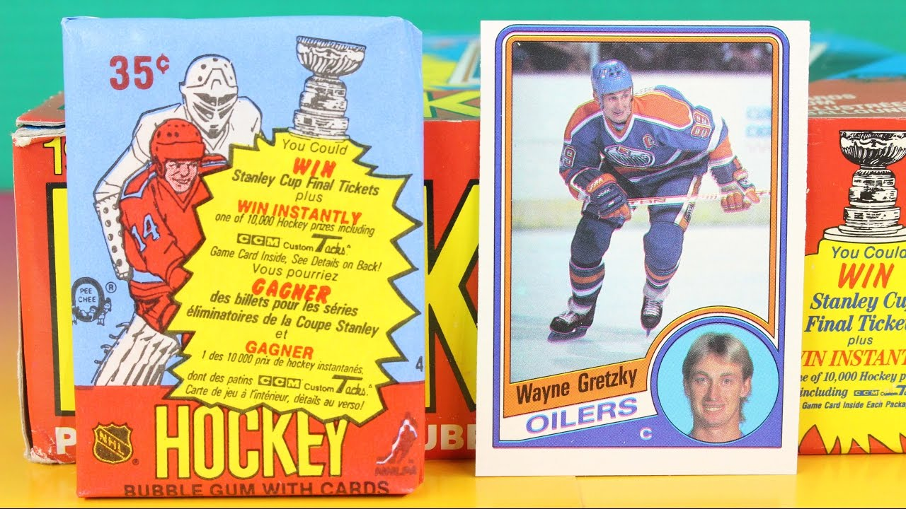 1984 85 Opc Hockey Wax Pack Opening Sports Cards With Possible Wayne Gretzky Rookie Steve Yzerman
