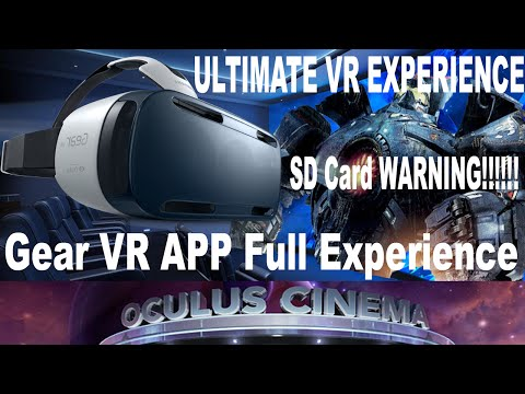 Samsung Gear VR Experience | Apps, Movies & More | SD Card WARNING & Back Up