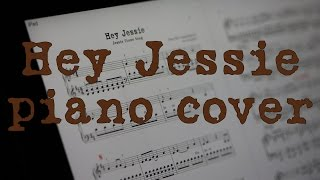 How to play Hey Jessie (Jessie Theme Song) on the piano