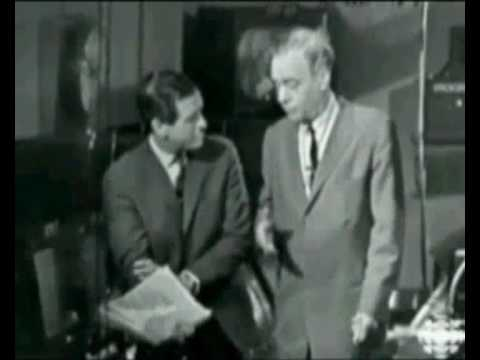 Marshall McLuhan on 'Our World' broadcast 1967. Part 1