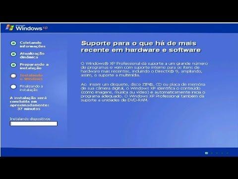 Clique e veja o vídeo Curso Configuração do Computador e Instalação do Windows XP - Parte 1