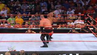 Chokeslam or Sweet Chin Music? Unforgiven 2004