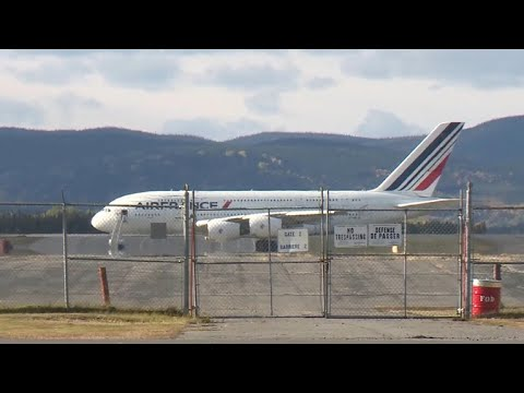 Air France flight makes emergency landing in Canada
