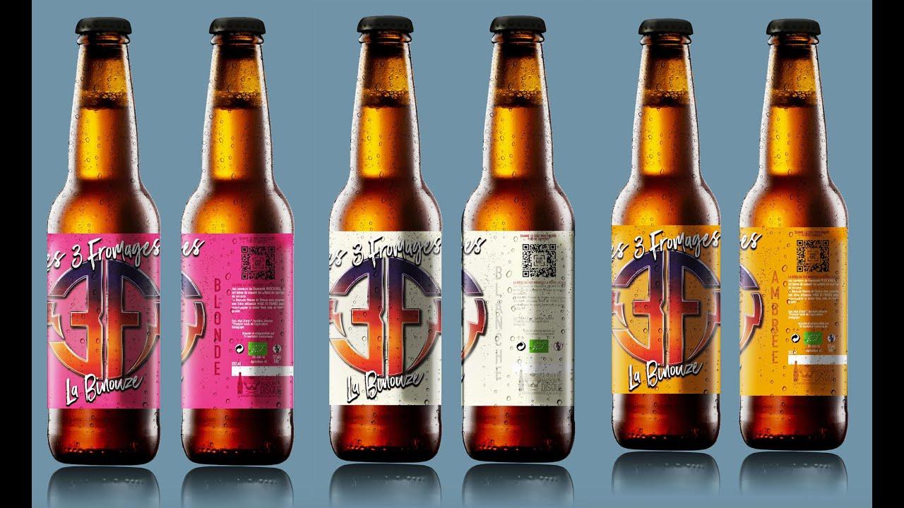 Les 3 Fromages - La Binouze (bière bio Artisanale)