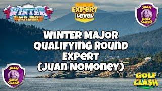 Golf Clash, RECORDING, Winter Major Qualifying round, Expert, Juan NoMoney, Ep. 74