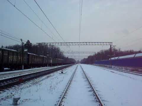 Брянский поезд следует в Петербург по БМО в Акулово