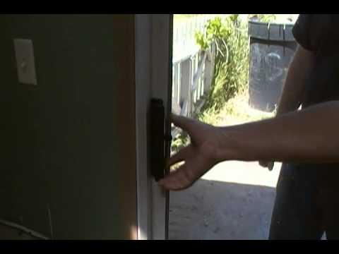 How To Open A Locked Sliding Glass Door