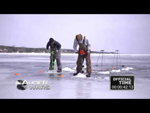 Ice Gator vs. Eskimo Ion Electric Ice Auger from YouTube · Duration:  8 minutes 53 seconds