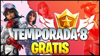 SURPRISE for Valentine's Day GET THE BATTLE PASS FOR FREE! Season 8 FORTNITE Free