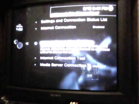ps3 network says timed out - YouTube