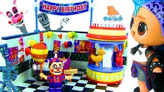 #ФНАФ! Куклы #Лол для мальчиков FNAF Видео для детей! Мультики с игрушками - My Toys Potap