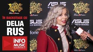 Exclusiv Delia Rus in backstage la Media Music Awards 2017