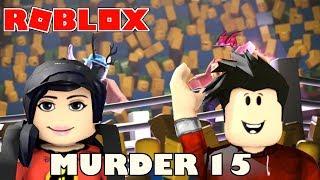 O ASSASINO MAS BURO DO MURDER 15 | ROBLOX