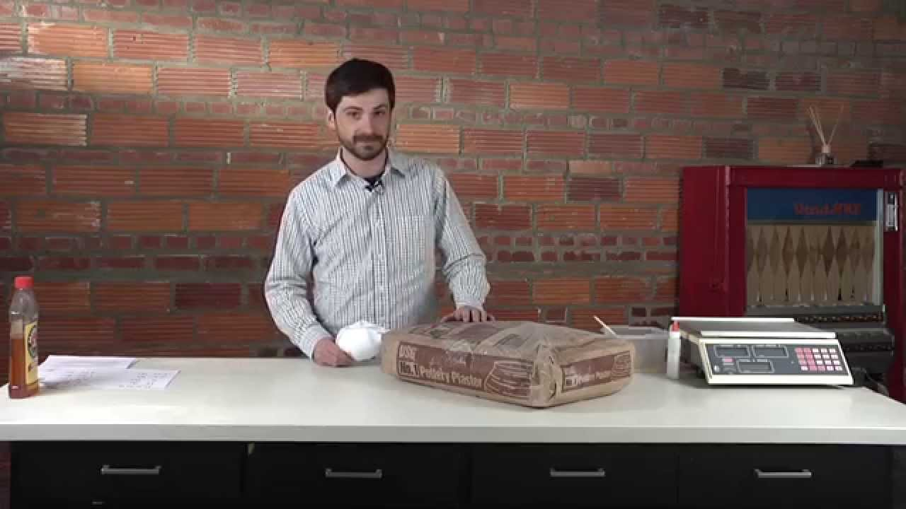 How to Weigh, Mix, and Pour Plaster for Slip Casting - GUY MICHAEL DAVIS