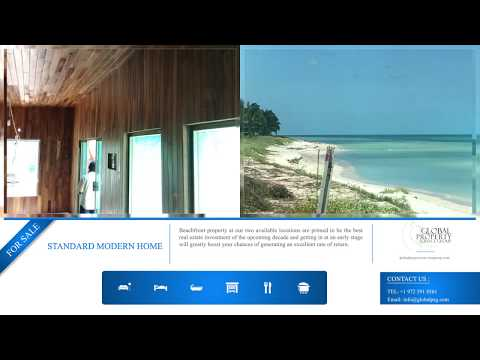 Oceanfront houses for sale in Yucatan
