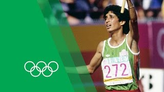 A history making victory from Nawal El Moutawakel | Olympic Rewind