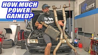 Are EXHAUST Modifications REALLY Worth It? Full Exhaust to OPEN Headers! (Exhausting Dyno Test)