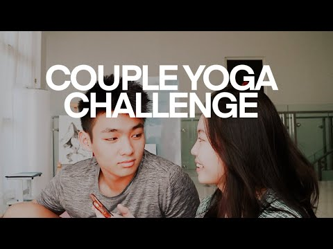 COUPLE YOGA CHALLENGE WITH JERHEMY OWEN ! | YOGA TAPI NYAKITIN
