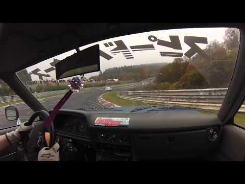 Underground Garage Cressida: Nordschleife drift - Onboard/Helmet Cam