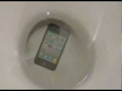 dropped iphone in toilet iphone 4 dropped in toilet 14035