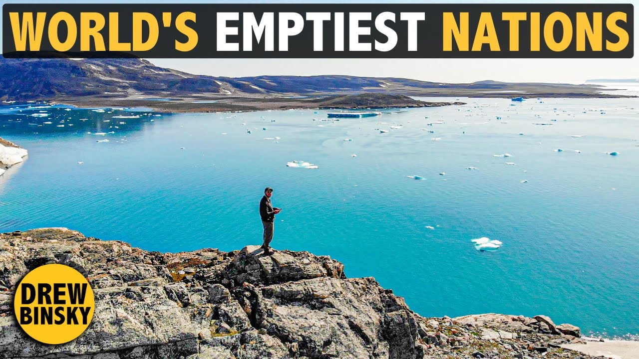 WORLD'S EMPTIEST COUNTRIES