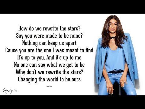 Rewrite The Stars - Zendaya & Zac Efron (Lyrics)