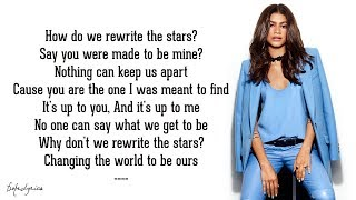 Gambar cover Rewrite The Stars - Zendaya & Zac Efron (Lyrics)