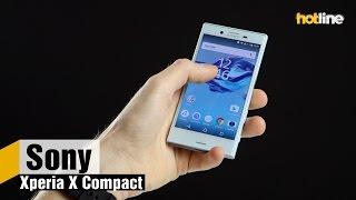 sony Xperia X Compact  короткий обзор самого маленького Android-смартфона