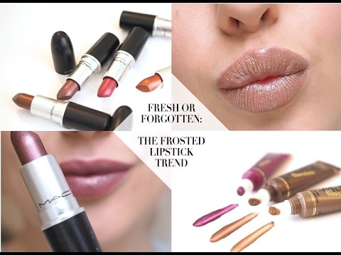 frosted-lipstick-favs:-too-faced-melted-metal-&-mac-frosted-swatches-  -style-lobster