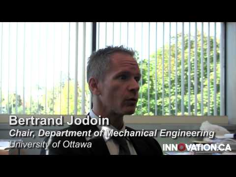 Building resilient planes – Bertrand Jodoin, University of Ottawa