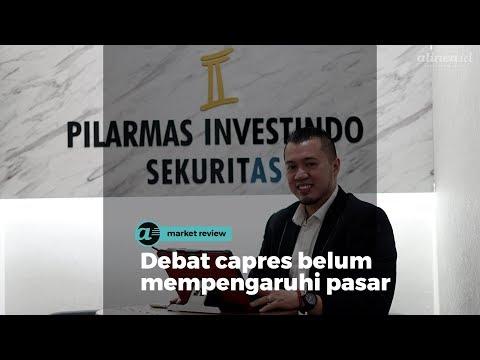 [MARKET REVIEW] Debat Capres Belum Mempengaruhi Pasar