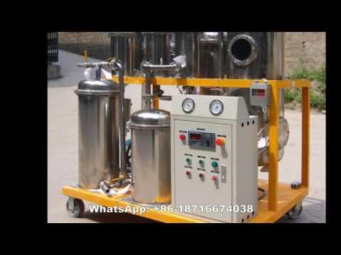 Vacuum Lube Oils Filtration Machine, Hydraulic Oil Filtration Plant