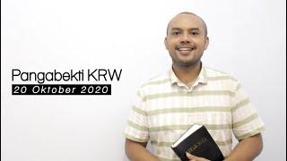 IBADAH KRW GKJW TEMPURSARI 20 Oktober 2020