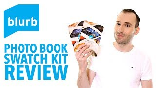 BLURB Photo Book/Trade Book/Magazine Paper Types - Swatch Kit Review