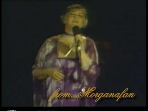 Morgana King...sings 'As Time Goes By'